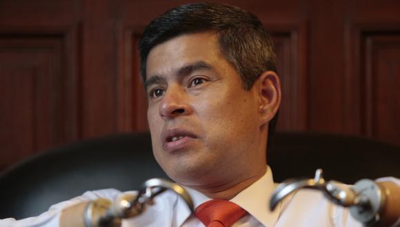 Luis Galarreta aseguró que las expresiones de Rafael López Aliaga no forman parte de la campaña de Fuerza Popular.  (Foto: Archivo / GEC)