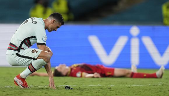 Portugal, vigente campeón de la Eurocopa, fue eliminado de la edición 2020 en octavos de final a manos de Bélgica. (Foto: Reuters)