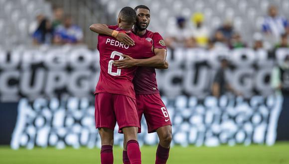 El Salvador enfrentó a Qatar por la Copa Oro 2021