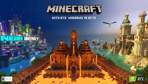 Minecraft con RTX. (Foto: Difusión)