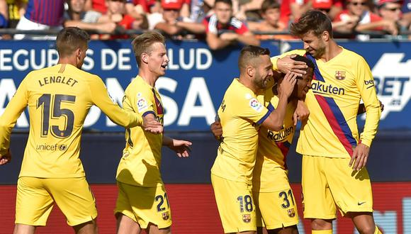 Barcelona estará frente a frente con Valencia por LaLiga Santander. Conoce los horarios y canales de todos los partidos de hoy, sábado 14 de septiembre. (AFP)