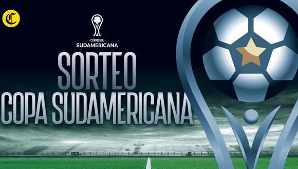 Mira en vivo la transmisión del sorteo de Copa Sudamericana 2021| Foto: Diseño EC
