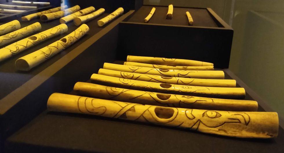 Los habitantes de Caral también tocaban instrumentos hechos de huesos de aves. (Foto: Yerson Collave)