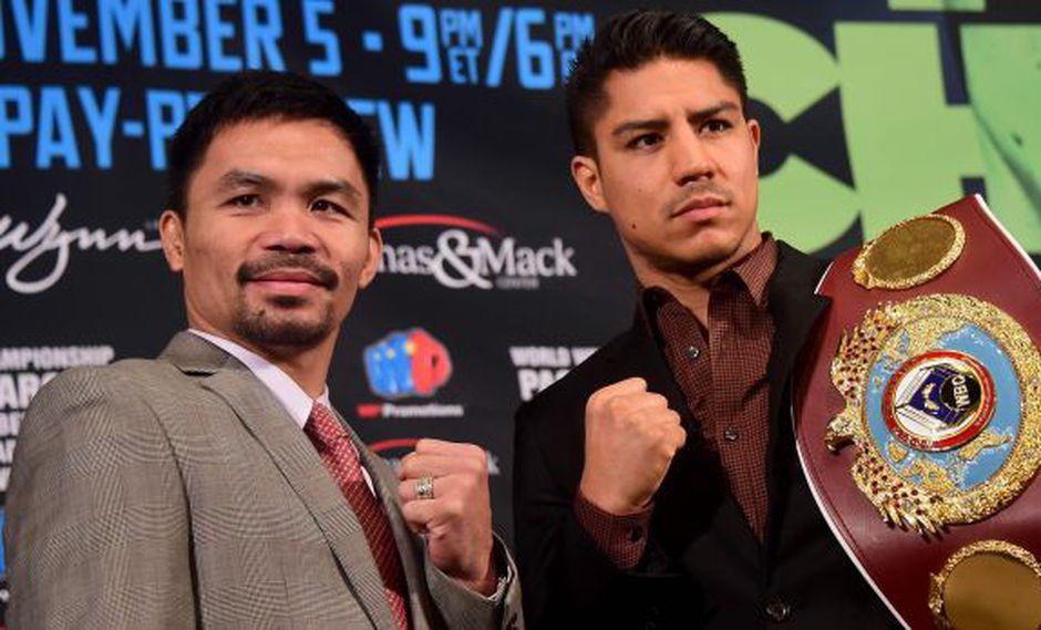 Box: Manny Pacquiao vuelve al ring y peleará ante Jessie Vargas