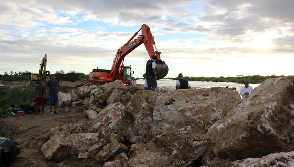Piura: auditarán reforzamiento de diques que ejecutó empresa