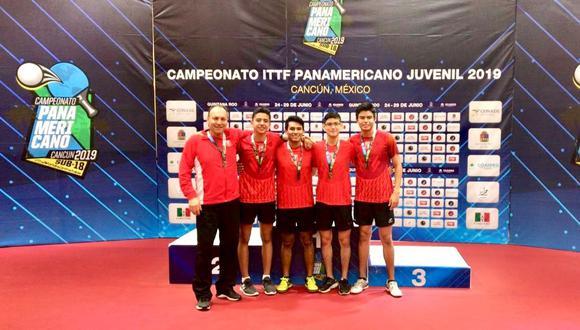 Tenis de Mesa: Perú logra clasificar al Mundial Juvenil de Tailandia. (Foto: IPD)