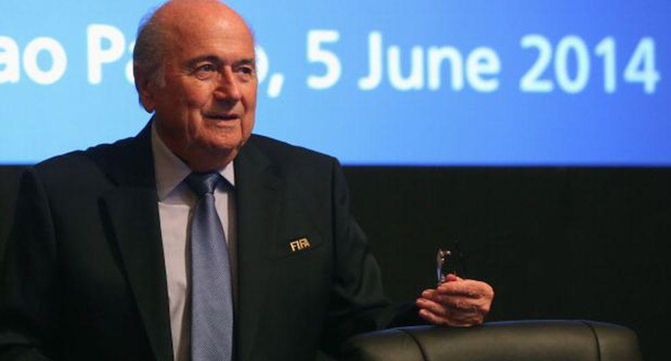Blatter buscará su quinto mandato como presidente de la FIFA