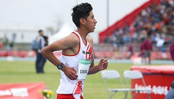 El peruano enfrentó a corredores de talla mundial de Ecuador, China e India. (Foto: FPA / Kevin Canhuana durante competencia juvenil nacional)
