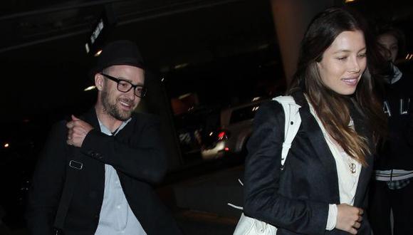Justin Timberlake y su tierno mensaje a su esposa, Jessica Biel