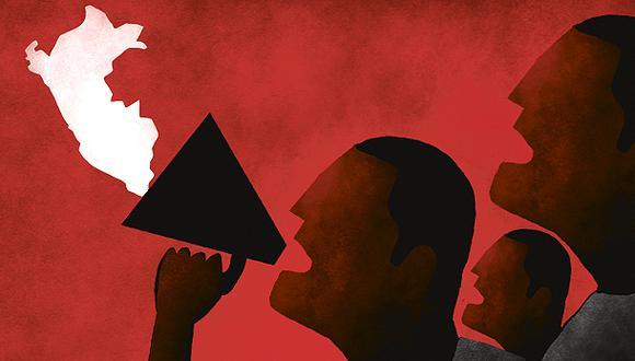 """""""La pregunta que ha surgido automáticamente en el Perú es la de si eventos similares a los de Chile pueden generarse aquí"""". (Ilustración: Víctor Aguilar)"""