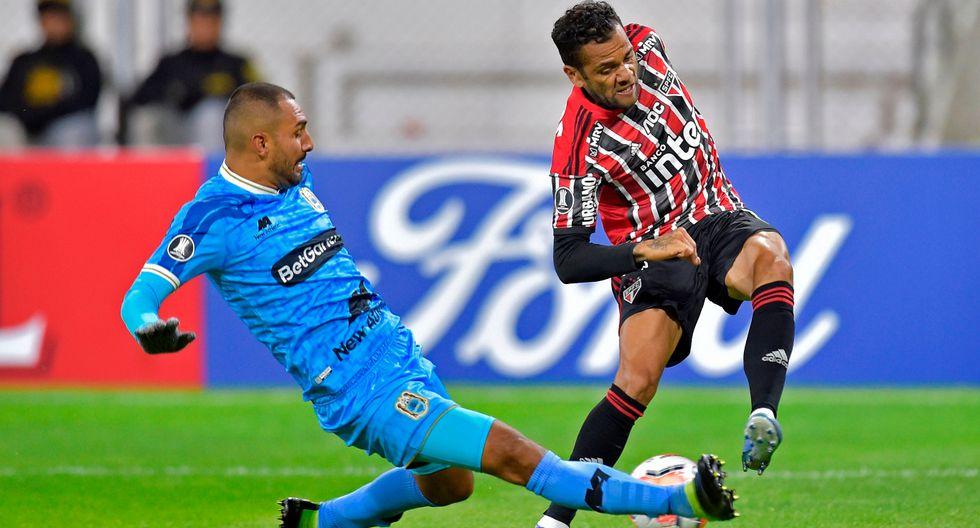 Binacional y Sao Paulo se enfrentaron en Juliaca por la Copa Libertadores (Foto: Agencias)