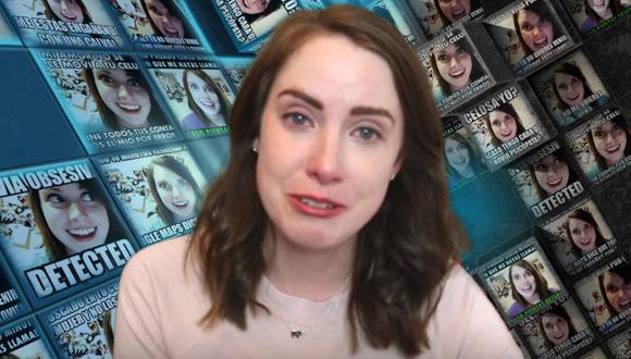 Laina Morris se convirtió en uno de los fenómenos virales más populares de Internet desde que publicó en 2012 un video como parte de un concurso. (Foto: Laina en YouTube/Know Your Meme/Composición)