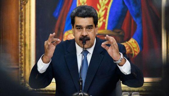 Ya en otras ocasiones Maduro ha anunciado despliegue de fuerzas antimisiles. Foto: Getty Images, via BBC Mundo