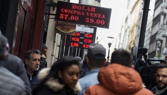 3 claves que explican qué está pasando con la economía en Argentina (EFE).