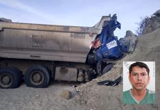 Lambayeque: conductor de camión falleció al caer a una zanja de 4 metros de profundidad