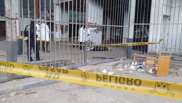 Hallan cadáver en exterminal de Fiori (José Caja / GEC)