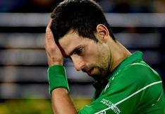 Novak Djokovic recibió severa multa económica tras ser descalificado del US Open 2020