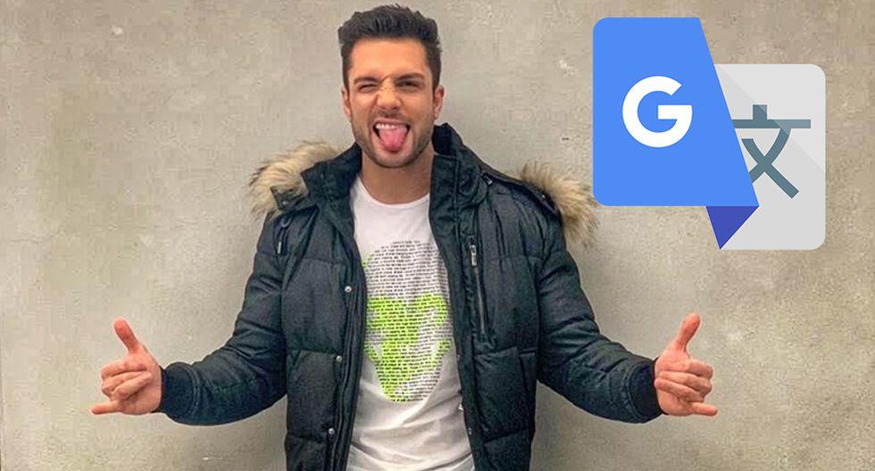 ¿Sabes qué es lo que sucede si colocas en Google Traductor el nombre de Nicola Porcella? (Foto: Facebook)