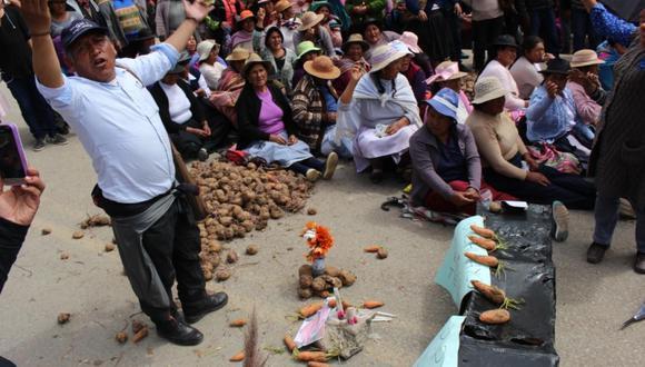 Ante las protestas sobre el precio de la papa, el nuevo titular del Ministerio de Agricultura, José Arista,