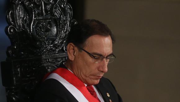 Fiscalía solicitó 18 meses de impedimento de salida del país contra Martín Vizcarra. (Foto: Hugo Perez/ GEC)