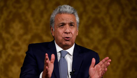 El presidente de Ecuador, Lenín Moreno. EFE