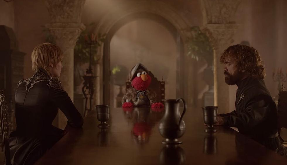 """'Elmo' se suma a la fiebre de """"Game of Thrones"""" y logra que Cersei y Tyrion Lannister se amisten. (Foto: Captura de YouTube)"""