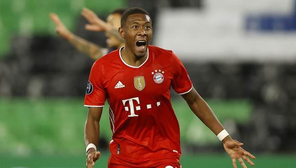 David Alaba se despidió de Bayern Múnich y ya piensa en el futuro. (Foto: EFE)