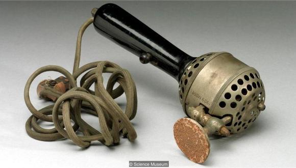 Rachel Maines argumentó que los vibradores mecánicos como este, que data de 1909, fueron usados para curar a las mujeres de la histeria. (Foto: Science Museum)
