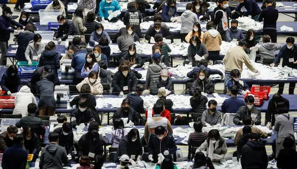 """""""Esta semana su gente reforzó la democracia al acudir en masa para elegir a sus nuevos líderes"""". (Kim Hong-Ji / Reuters)"""