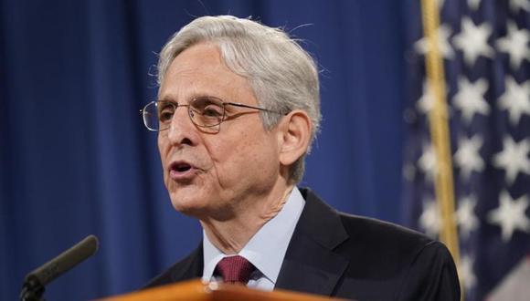 El secretario de Justicia de Estados Unidos, Merrick Garland en Washington. (Foto: AP Foto/Patrick Semansky)