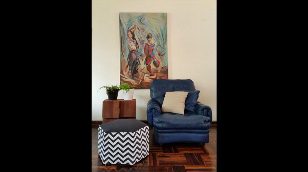 Ambiente cómodo: cinco ideas de pufs para la sala  - 4