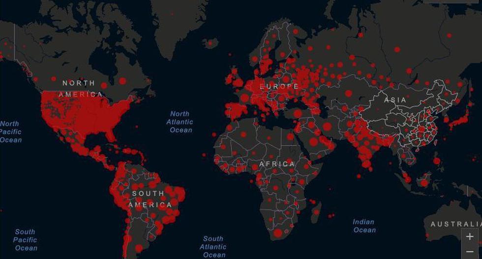 Desde el comienzo de la epidemia más de 13.835.110 personas en 196 países o territorios contrajeron la enfermedad. De ellas al menos 7.547.500 se recuperaron, según las autoridades. (Foto: captura de video)