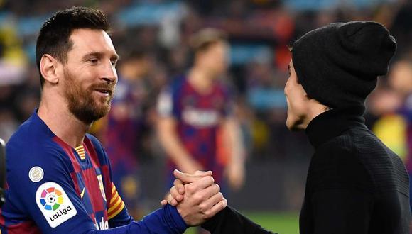 El agradecimiento de Lionel Messi al personal de salud que lucha contra el coronavirus. (Foto: AFP)