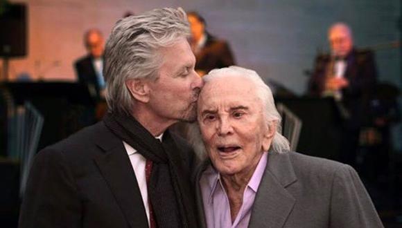 La leyenda de Hollywood Kirk Douglas falleció este miércoles a los 103 años.  (Foto: Instagram)