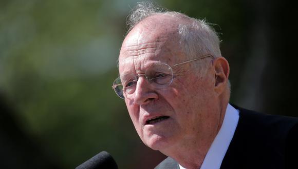 Juez de la Corte Suprema de Estados Unidos Anthony Kennedy anuncia su jubilación. (Reuters).