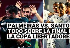 Palmeiras vs. Santos: cómo llegan los dos equipos brasileños a la final de la Copa Libertadores