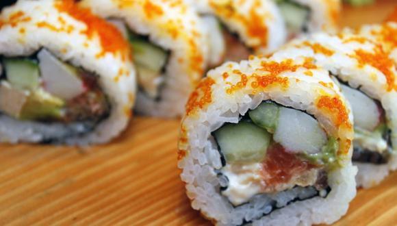 El sushi es una delicia japonesa que debe contar con un correcto arroz para que salga perfecta. (Foto: Pixabay)