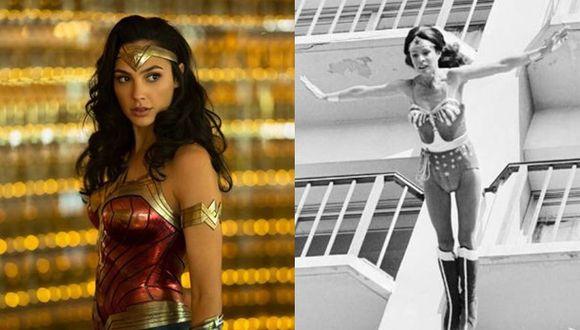 "Gal Gadot se pronuncia en torno a la muerte de Kitty O'Neil, doble de Linda Carter en ""Wonder Woman"". (Fotos: Instagram)"