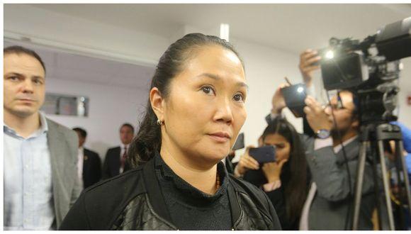 La defensa de Keiko Fujimori presentó dos recursos ante el Poder Judicial buscando su excarcelación. El primero es la apelación a la prisión preventiva a cargo de la Segunda Sala y el segundo se sustenta en el riesgo de contraer coronavirus y aún no se sabe que juez lo evaluará  (Foto:GEC)