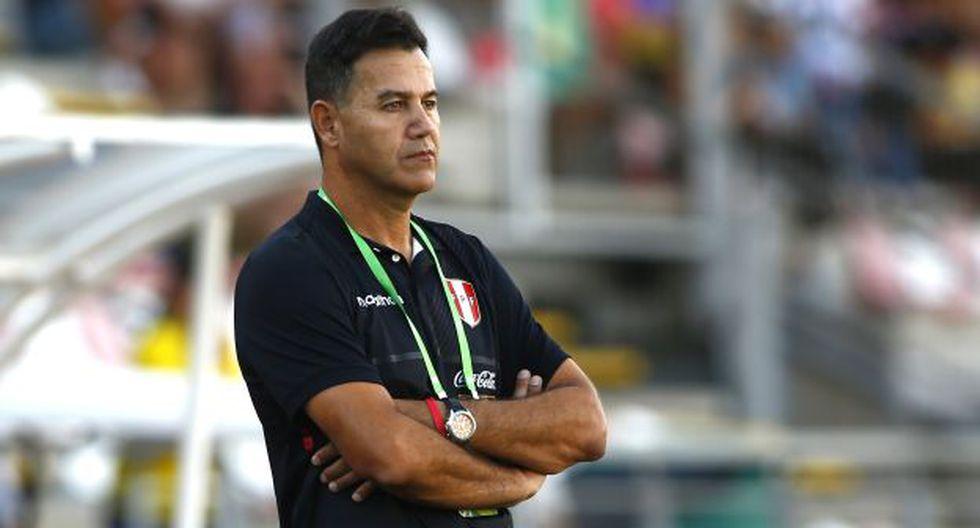 La explicación de Ahmed a la eliminación de Perú en Sudamericano Sub 20. (Foto: Photosport)