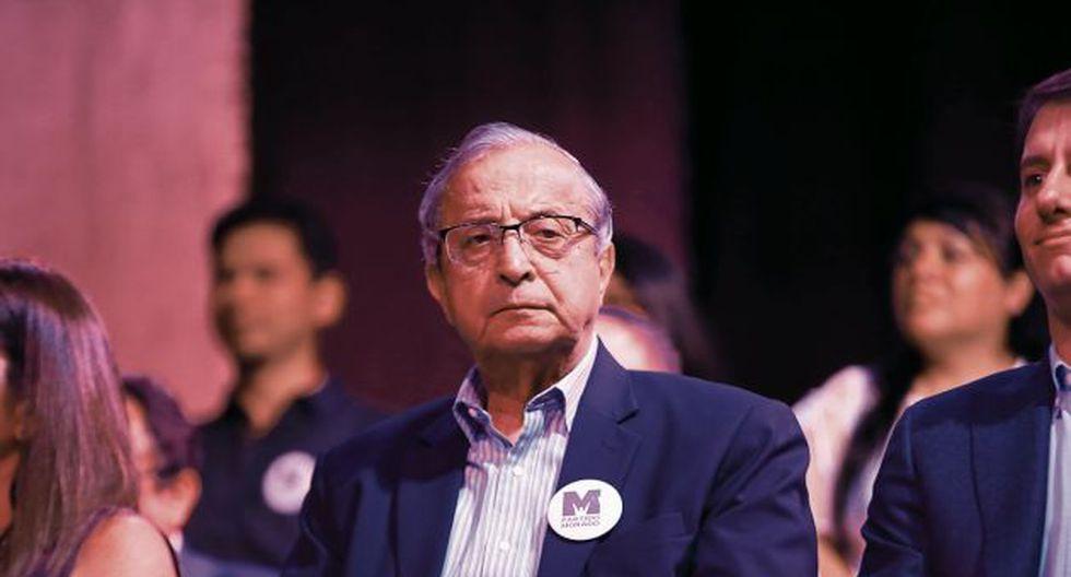 Daniel Mora anunció que renunciaría a su candidatura al Congreso, pero el Jurado Electoral Especial de Lima Centro rechazó la solicitud presentada por el Partido Morado para retirarlo de la contienda electoral. (GEC)