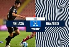 Necaxa igualó 1-1 frente a Monterrey por el Clausura 2021 de la Liga MX
