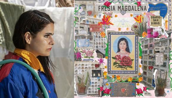 """Sofia Kourtesis publicó hace unas semanas """"La Perla"""", primer tema de su próximo EP """"Fresia Magdalena"""". (Foto: José Rojas Bashe)"""
