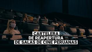 Cartelera de reapertura de cines para el 5 de agosto