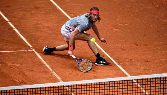 Stefanos Tsitsipas, el tenista con apellido difícil que juega fácil. (Foto: AFP)