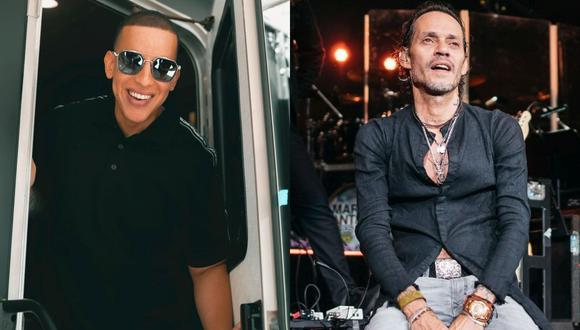 Daddy Yankee se une a Marc Anthony para su primer show virtual. (Foto: @daddyyankee/@marcanthony)
