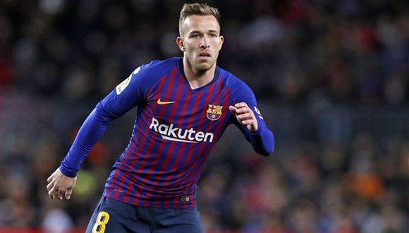 Arthur Melo es jugador de Barcelona desde el inicio de la temporada 2018-19. (Foto: FC Barcelona)