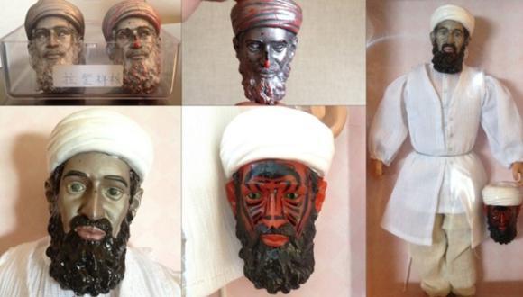 La CIA diseñó un muñeco de Osama bin Laden con cara de demonio