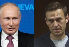 Cumbre de Ginebra: Putin dice que el opositor Alexei Navalny quería ser detenido deliberadamente