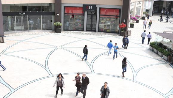El aforo de los centros comerciales estará limitado al 50% de su capacidad habitual. (Foto: GEC)